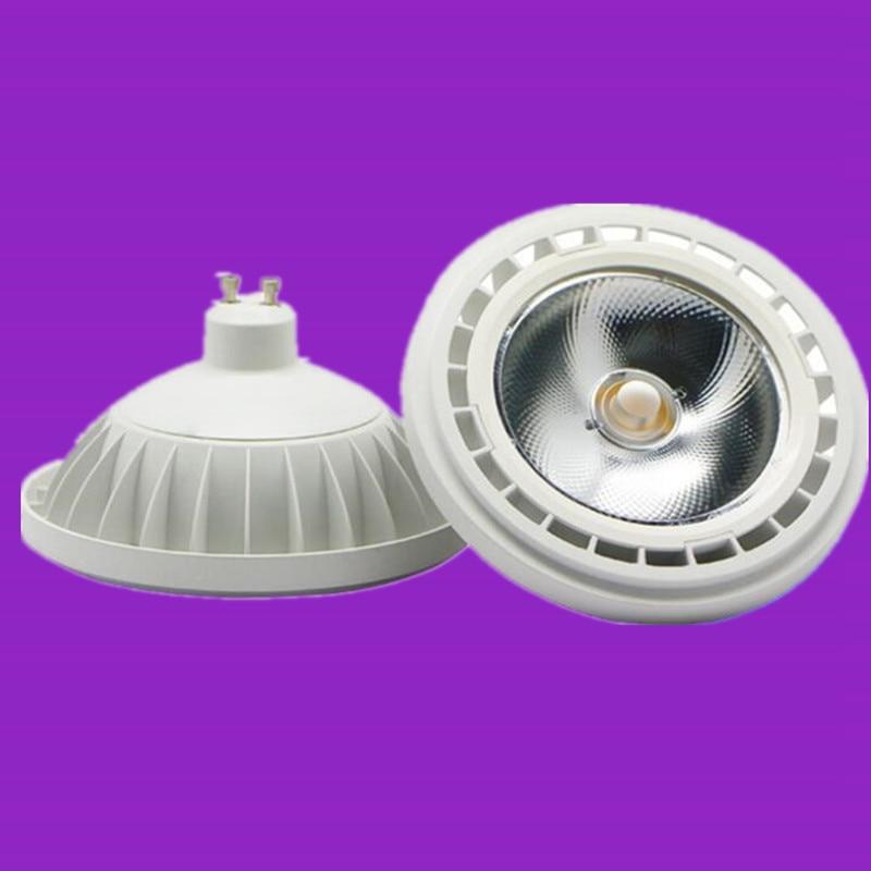 Intelligent Dimmable 10w 12w 15w Ar111 Cob Led Lamp G53 Gu10 Led Light Bulbs Warm Cold White Ac85-265v/dc12v Qr111es111 Free Shipping Lights & Lighting Led Bulbs & Tubes