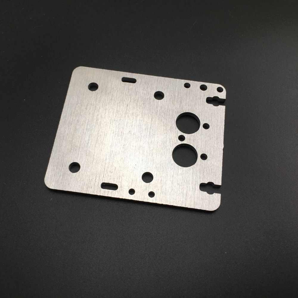 Aluminium Flsun Prusa X Dual Carriage Kepala Cetak Kereta untuk Upgrade Flsun Prusa 3D Bagian Printer