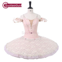Взрослых розовый профессиональная балетная пачка Для женщин Красный Щелкунчик одежда для сцены для девочек балетки танцевальный конкурс к
