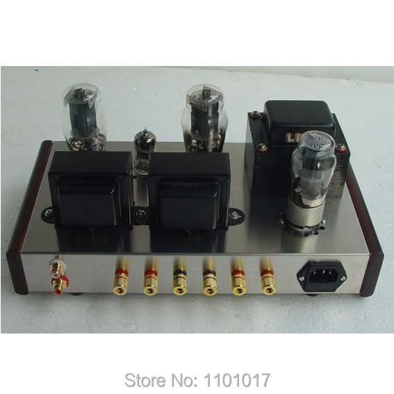 JBH 6n1 6P3P Tube amplifier HIFI EXQUIS Single Ended DIY SET or Finished 6L6 Lamp Amplifier 7.5w-in Amplifier from Consumer Electronics    2