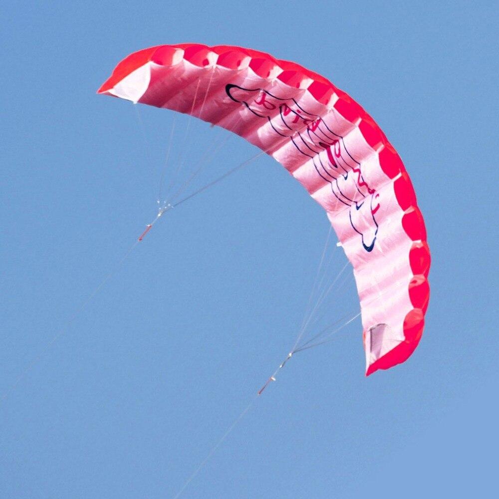 HTB1figgrljTBKNjSZFDq6zVgVXa1 - ร่มพาราไกลดิ้ง ขนาด 1.4 เมตร แบบคู่ ร่มไนลอน กีฬาทางน้ำ กีฬาชายหาด เล่นกลางแจ้ง Parachute Surfing Kite Paragliding -