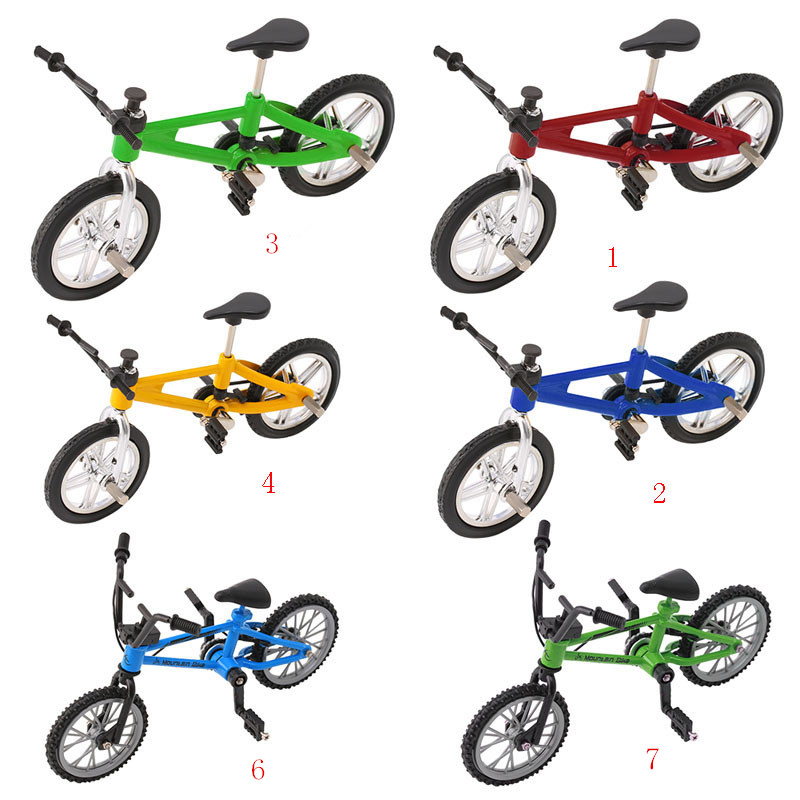 Mini Alloy BMX Finger Bicycle Model Bike Fans Kids Toy Gift Decor Xmas Gift