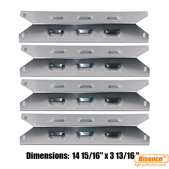 Hisencn 14 9 inch Stainless Steel Heat Plate Replacement for Gas Grill Models Charbroil 640 01303702