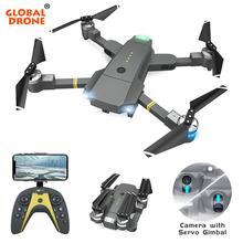 Global Drone Selfie Drone with Camera Servo Gimbal 20 Minutes Flight Time Mini Quadrocopter Flying Camera Dron VS SG900 E511 E58