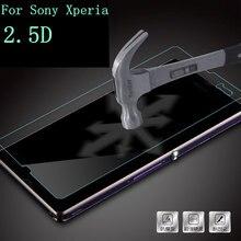 9H Tempered Glass Screen Protector guard BAG for Sony Xperia Z Z1 Z2 Z3 Z4 Z4V Z5 Premium Compact MINI glass Film