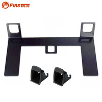 Universal Child Safety Seat Latch ISOFIX Seat Belt Interfaces Guide Retainer Bracket For Peugeot Honda For Kia Mazda For Ford VW