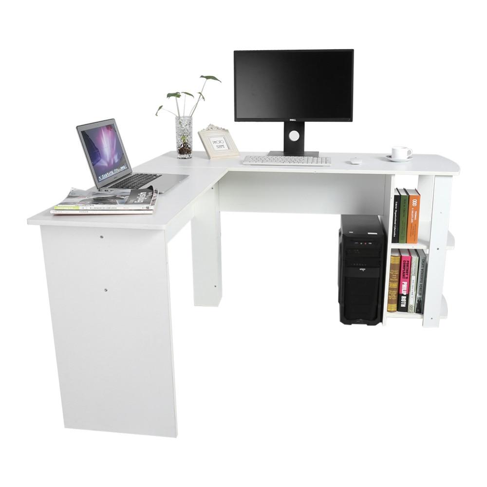 2 Farben Utility Holz Büro Computer Schreibtisch Home Gaming Pc Furnitur Ecke Computer Schreibtisch
