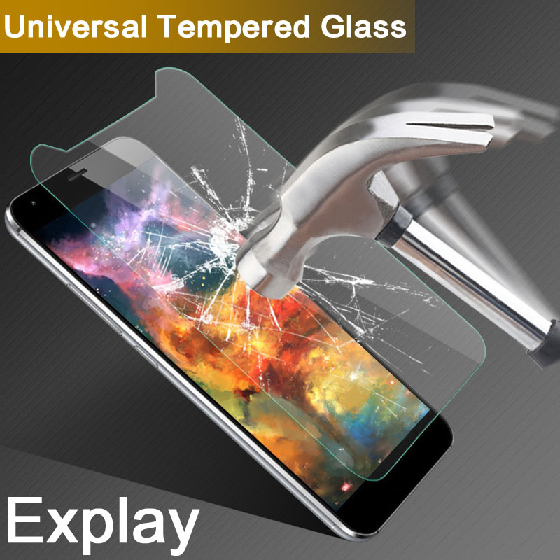 Universal Best Protection Tempered Glass Film For Explay X-Tremer/x5 5.0 inch 9H 2.5D Screen Protector For Explay Rio/Play