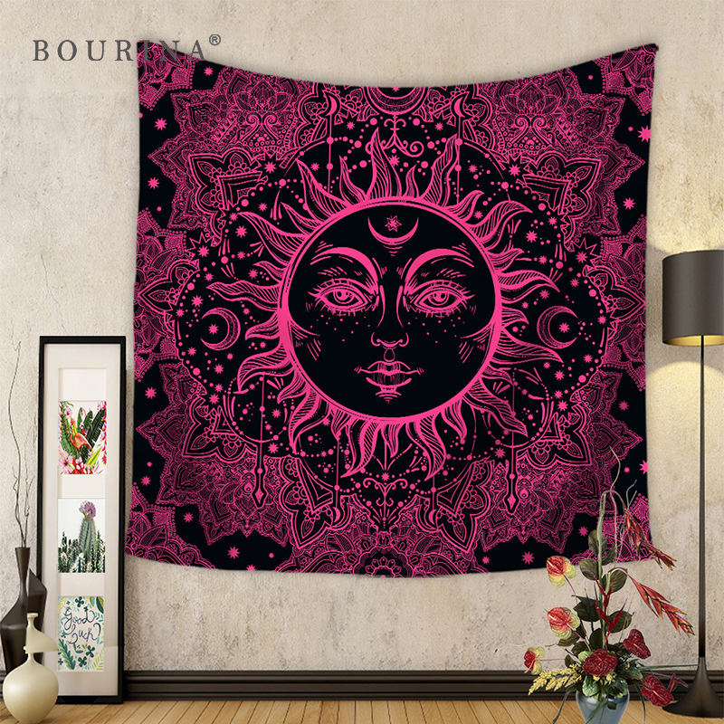 Aliexpress Buy Bourina Bohemia Tapestry Wall Decor