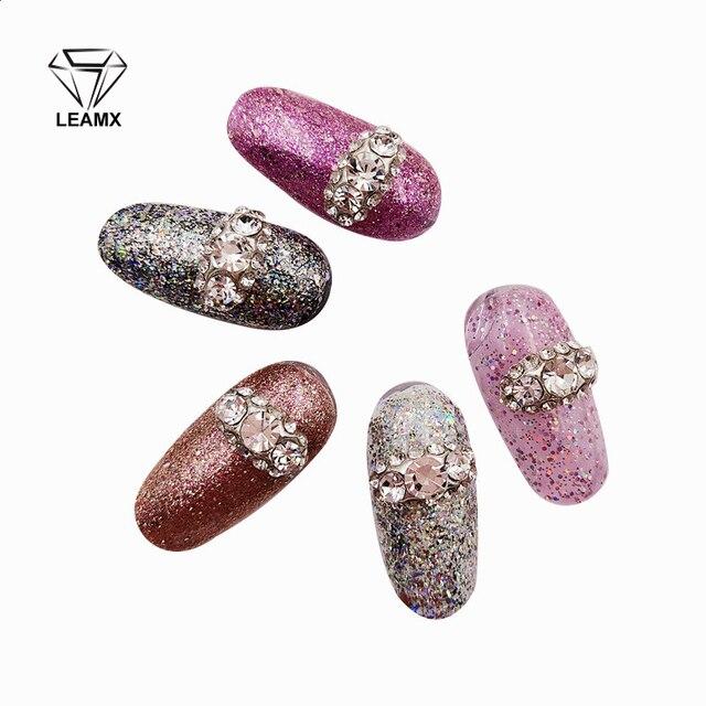 10 PCS bag 3D Nail Art Decorations Charm Rhinestone Alloy Embellishment  Beautiful Girl Nail Supplies 2f8d458c056e