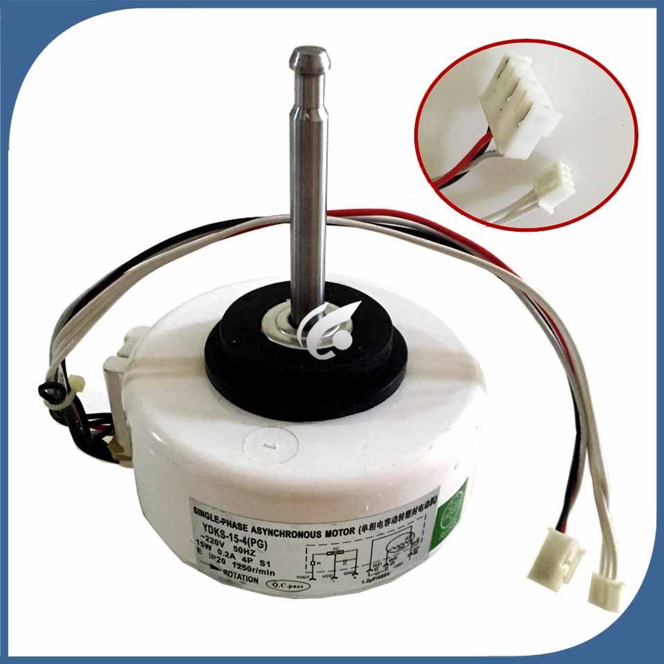 где купить new good working for Air conditioner inner machine motor YDKS-15-4(PG) long Motor fan дешево