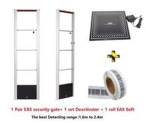 Rf-System Shoplifting Retail Eas Alarm with 1-Roll Soft-Labels 1set Deactivator Deactivator