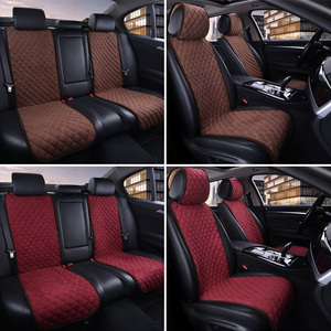 Image 4 - AUTOYOUTH Fashion Car Seat Cushion Universal Nano cotton velvet Cloth Car Seat Cover Fits Most Car or SUV 4 Colour Car Styling