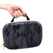 Cesur kalp seyahat depolama toplama çantası taşıma çantası Gopro Hero 5 4 3 Sjcam Sj4000 Xiaomi Yi 4k kamera aksesuarları