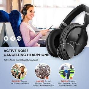 Image 4 - Fones de ouvido bluetooth 2 gen 2nd mpow h5, cancelamento de ruído, com microfone, fone de ouvido wireless para hi fi estéreo & 18 horas de tempo de reprodução