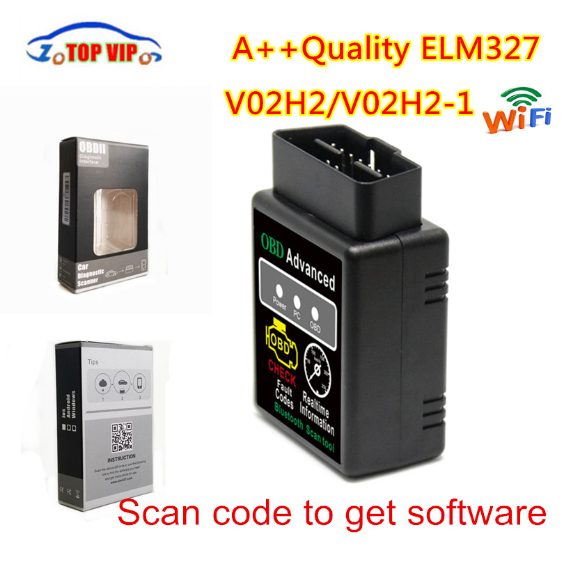 V1.5 ELM327 מיני החדש Bluetooth V02H2 V1.5 קוד קורא OBD2 כלי אבחון מנוע סורק אבחון אוטומטי סריקה ספינה חינם