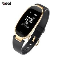 EDAL S3 Sports Waterproof Bluetooth Smart Bracelet Watch Heart Rate Monitor Wristbands For Women