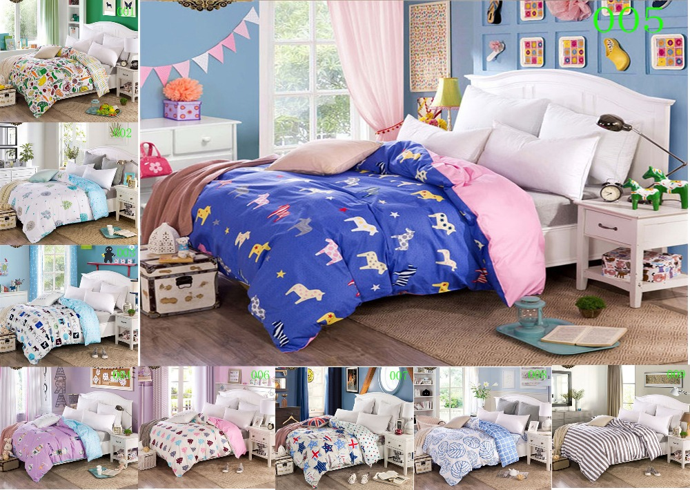 Cartoon Horse 1Pcs Cotton Twin Full Queen King Bed Comforter Cover Duvet  Cover quilt cover Bedding. Compare Prices on Bed Comforter Cover  Online Shopping Buy Low