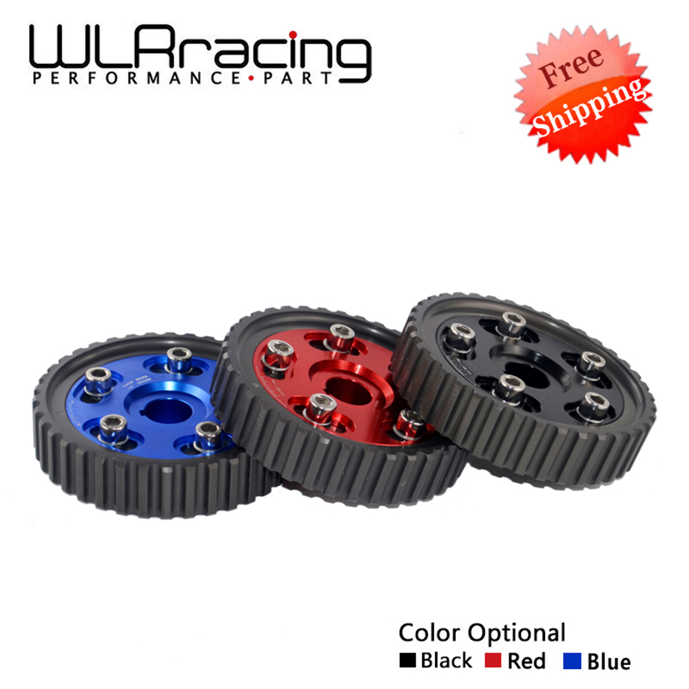 WLRING FREE SHIPPING- Adjustable Cam Gear Alloy Timing Gear FOR HONDA SOHC D15/D16 D-SERIES ENGINE CAM PULLEY PULLYS GEARS 1PCS