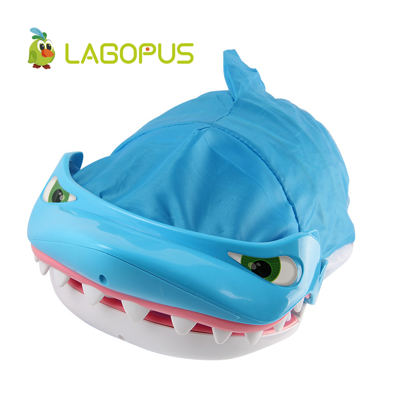lagopus funny family dice board game funk toys for children fishing shark desktop party game mouth eats fish gift for kids