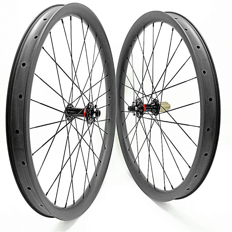 1780g de carbono mtb rodas 40x28 milímetros tubeless Assimetria impulso 148x12 110x15 mtb 29er rodas de bicicletas de Montanha disco bicicleta rodado