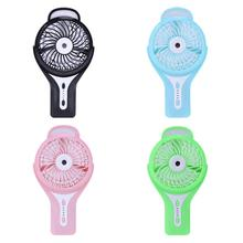 Mini Handheld Portable Rechargeable USB Gadgets Misting Humidifier Fans USB Spraying Cooling Fan Office Desktop Water