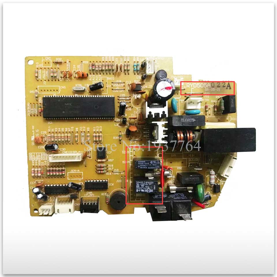 95% new for Mitsubishi Air conditioning computer board circuit board RYD505A022J/C/F/G/A/B/K/H/D/M good working
