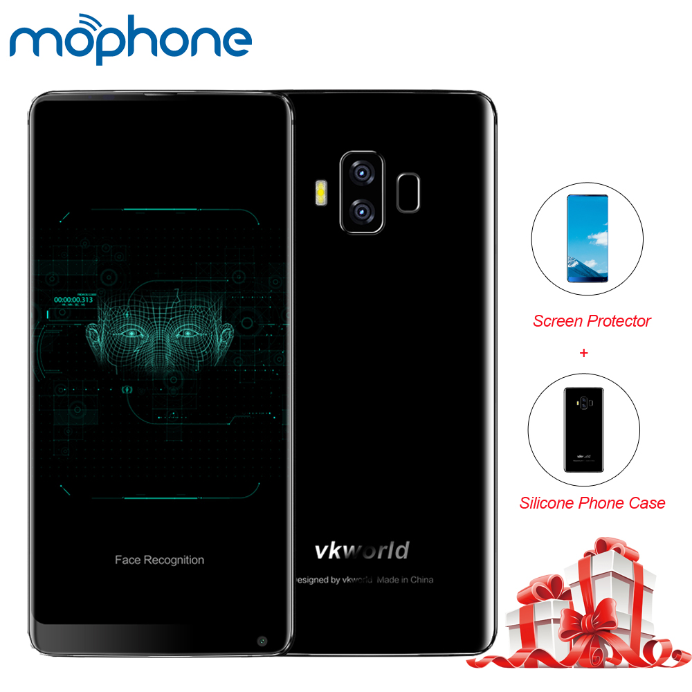 4dd6a5ba02a Vkworld S8 4G Smartphone 5.99   18 9 Full Screen 4GB+64GB Android 7.0  MTK6750T Octa-Core Back Dual 16MP+5MP 5500mAh Mobile Phone
