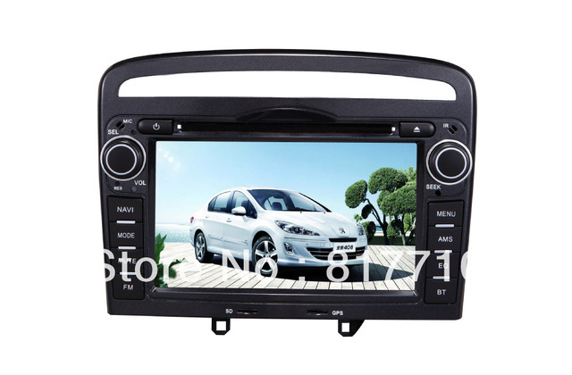 DVD PLAYER FOR PEUGEOT 408 2013 WITH GPS ,BLUETOOTH ,DVB-T,ATSC ,CANBUX BOX ,etc.