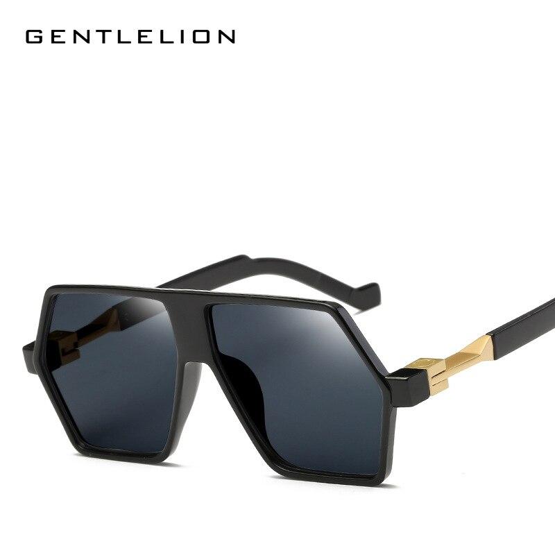 2017 New Color Men Sunglasses Unique Polygon Lense UV400 Gradient Vintage Eyeglasses Frames for Women 2724