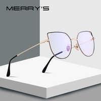 MERRYS DESIGN Women Fashion Cat eye Glasses Frame Retro Blue Light Blocking Optical Frames Eyeglasses S2088