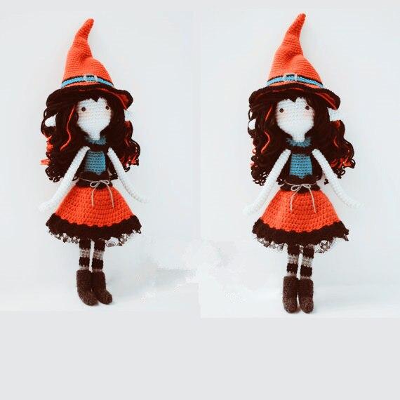 Amigurumi Crochet poupée jolie fille hochet jouet et poupée charmante fille