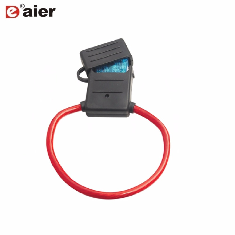 2PCS Inline Auto Blade Fuse Holder 10AWG Fuse Box 30 Amp MAXI Fuse Holder  With 26cm Wire Plastic Cover|Fuses| - AliExpress | 30 Amp Car Fuse Box |  | AliExpress