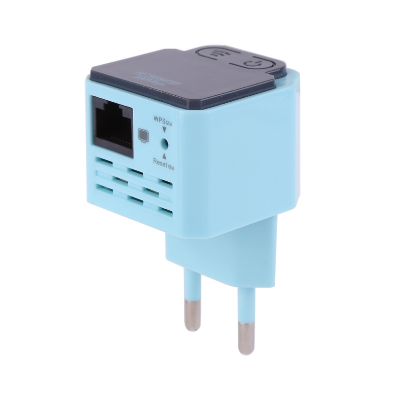 300 Мбит/с Беспроводной Wi-Fi ретранслятор 2,4 ГГц синий AP маршрутизатор Wi-Fi усилител ...