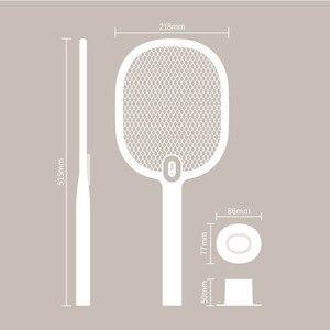 Image 5 - Youpin Mijia חשמלי מחבט יתושים נטענת LED חשמלי חרקים באג יתושים Dispeller רוצח מחבט 3 שכבה נטו H30