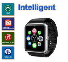 Neueste männer stil android samrt armbanduhr TG08 1,54 Zoll touchscreen smartwatch unterstützung Tf-karte Bluetooth und kamera 0,3 Mt
