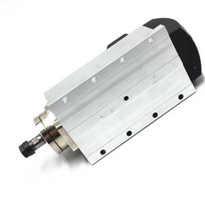 Image 3 - Бесплатная доставка 220В 110В 1.5кВт 24000 об/мин с воздушным охлаждением CNC мотор шпинделя + 1 набор 7 шт ER11 цанги для ЧПУ