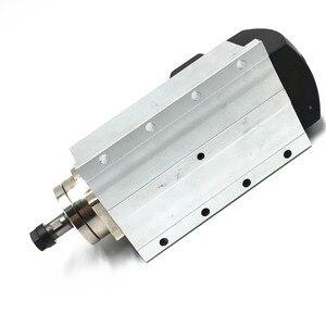 "Image 3 - משלוח חינם 220V 110v 1.5KW 24000 סל""ד אוויר מקורר CNC ציר מנוע + 1 סט 7 pcs ER11 COLLETS עבור CNC"