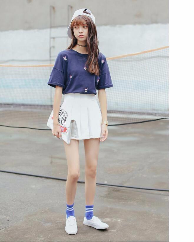 HTB1fil NVXXXXcaaXXXq6xXFXXXp - Summer American School Style Fashion Skirts