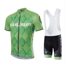 SAILSUN 2016 Men's Summer Short Sleeve Cycling Jersey Off Road City MTB Bike Bicycle Shirt Sportswear – Fluorescent inexperienced