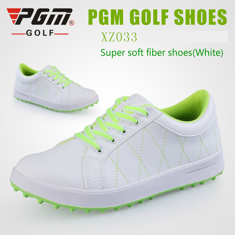 2015 Counter genuine PGM ladies golf shoes sports shoes women no spikes breathable waterproof for female boots