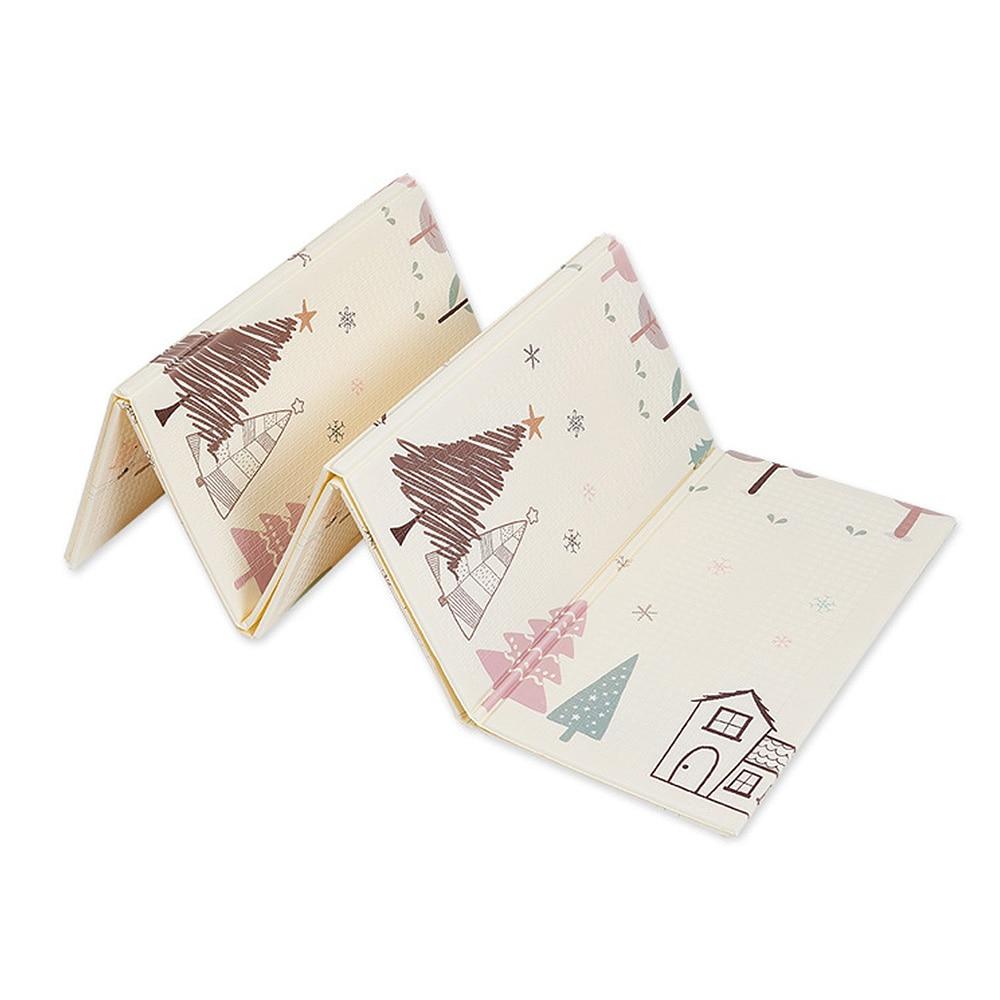 Folding Crawling Mat Baby Climbing Mat Thickening Environmentally Friendly Mats Developing Mat For Children Game Pad