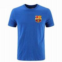 Barcelona Summer Men T Shirt Champions League AC Print Casual Cotton Male Short Sleeve Tops Men's Sport T Shirt Boyfriend Gift