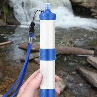 Открытый Портативный Кемпинг Пеший Туризм Давление фильтр для воды очиститель дикие питьевой воды аварийный комплект выживания ASD88