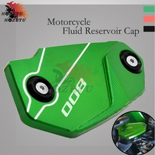 For Kawasaki Z800 Z 800 2013 2014 2015 2016 Motorcycle Brake Fluid Reservoir Tank Cover Cap With Logo