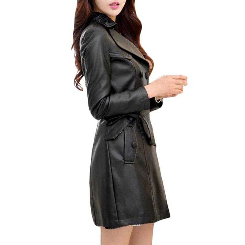 La Cuir Printemps Top 5xl Femmes Moto Pu Manteau Manteaux Veste Plus Taille Mode En Slim Black 235 Automne Long De Frais Cardigan red 6TX5AqxT