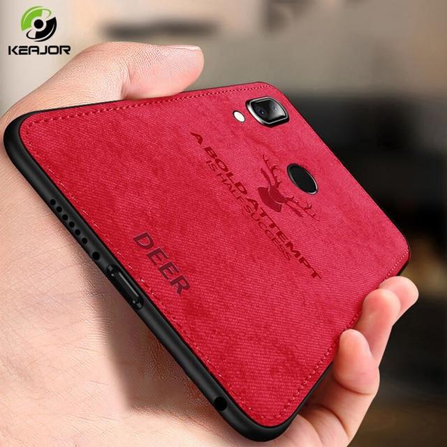 Fashion Case For Xiaomi Redmi Note 7 Case Soft Fabric TPU Silicone Bumper Shockproof Back Cover For Xiaomi Redmi Note 7 Case