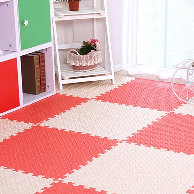30x30cm Exercise Tiles Floor Mat For Home Decoration Mix Color EVA ...
