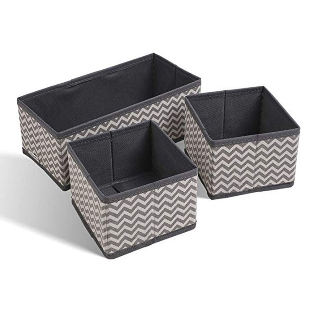 Container:  6pcs Cube Shape Durable Organizer Practical Home Non Woven Fabric For Underwear Storage Case Set Container Portable Foldable - Martin's & Co
