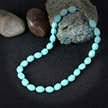 KCALOE Nature Stone Turquoise Necklace For Women Bijoux Femme Rope Beaded Necklaces Bohemian Jewelry Accessories Collares Mujer